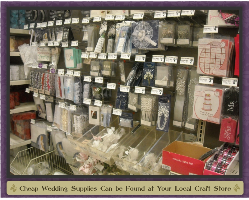 Get To Know Your Local Craft Store Beautifulcheapweddings